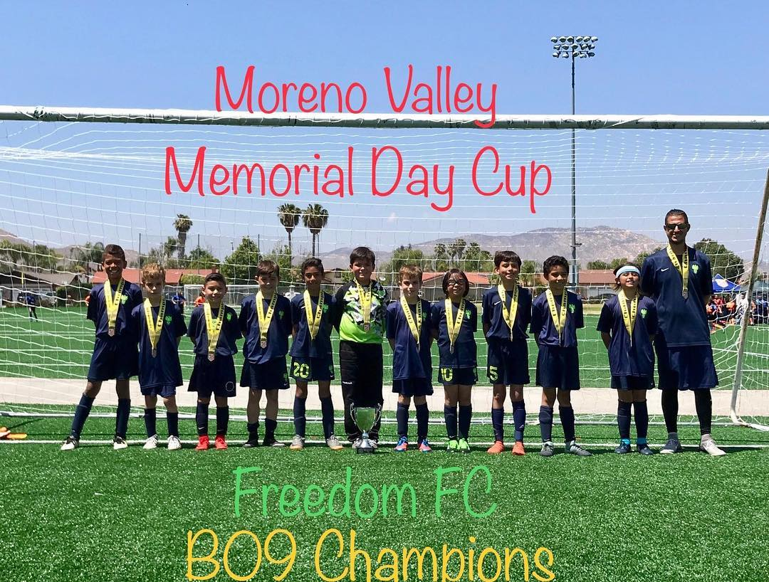 FFC B09 Champions @ Moreno Valley Cup