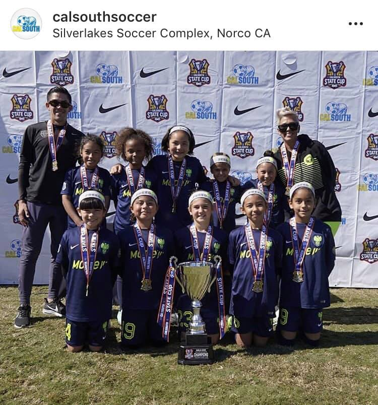 Medaris G09 State Cup Champs