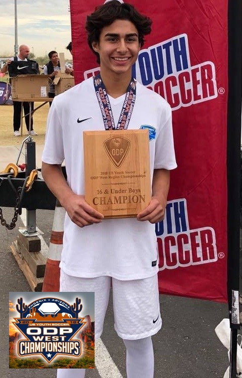 FFC B02 - Brendyn Ponce ODP West Champs